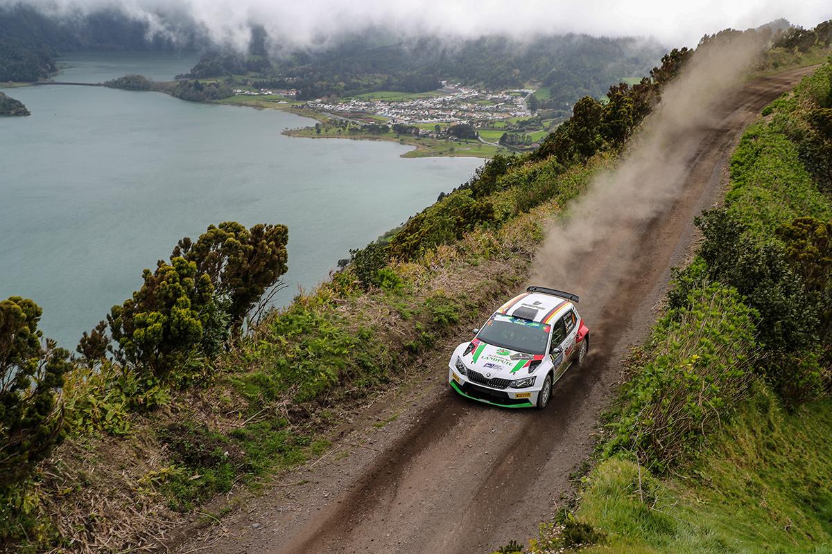 Marijan Griebel aus Hahnweiler belegt den 2ten Platz bei der Rallye Azoren 2017