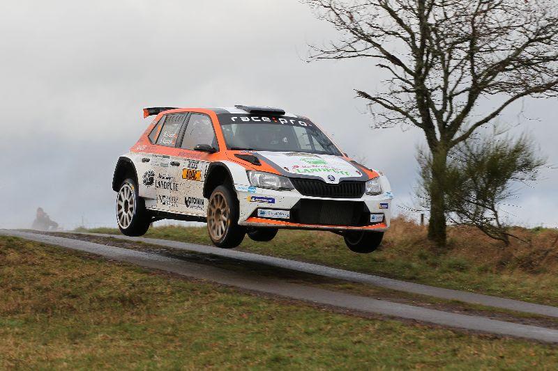 Marijan Griebel und Beifahrer Stefan Kopczyk nutzten die ADAC Saarland Pfalz Rallye um sich nach einer langen Winterpause auf die bevorstehenden Aufgaben in der Europameisterschaft vorzubereiten. Bei höchst anspruchsvollen Wetterbedingungen fuhren sie auf den zweiten Gesamtrang.